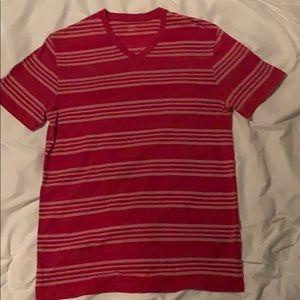 Medium sized v-neck dress shirt